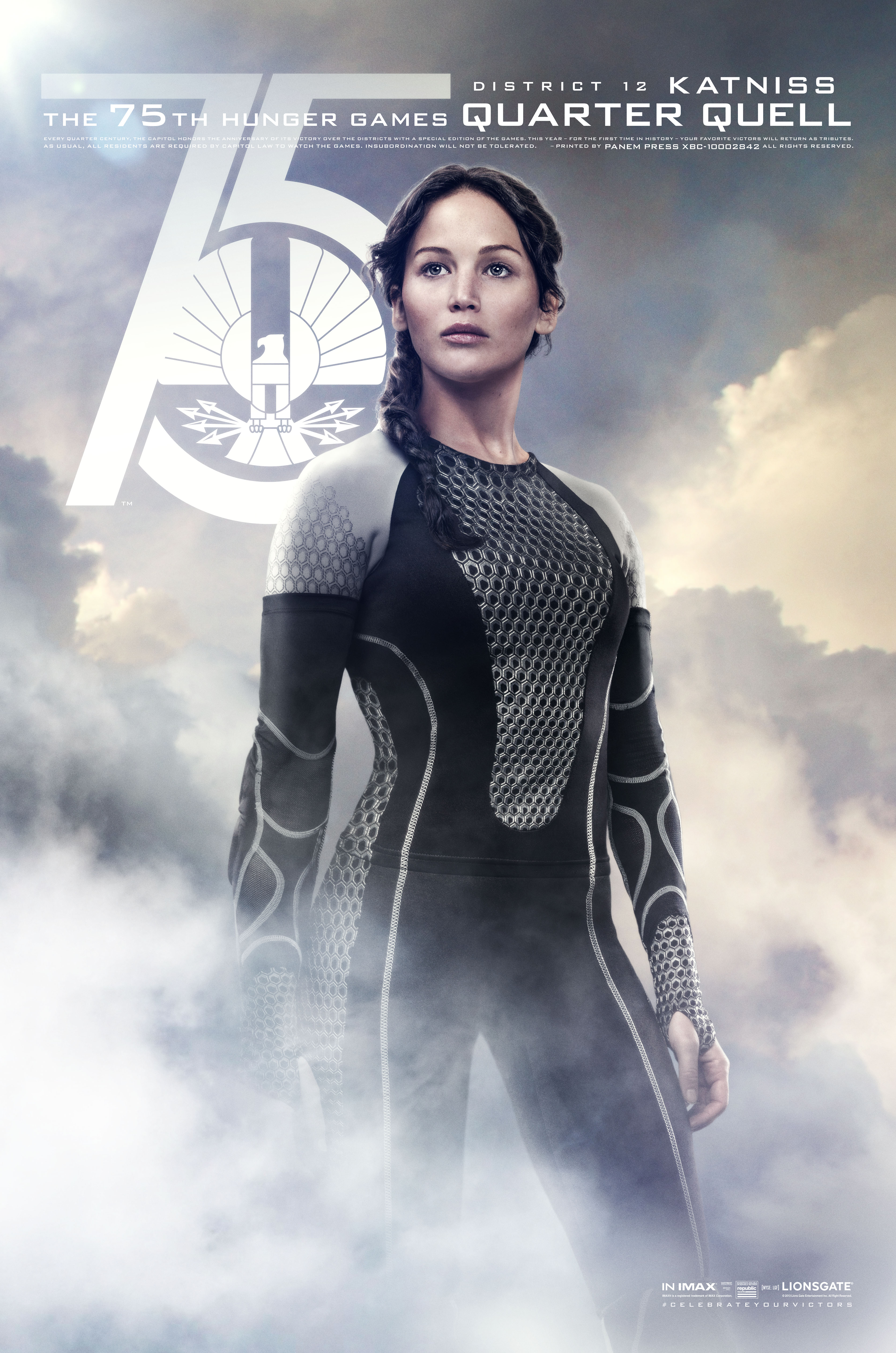 Katniss Quarter Quell Poster